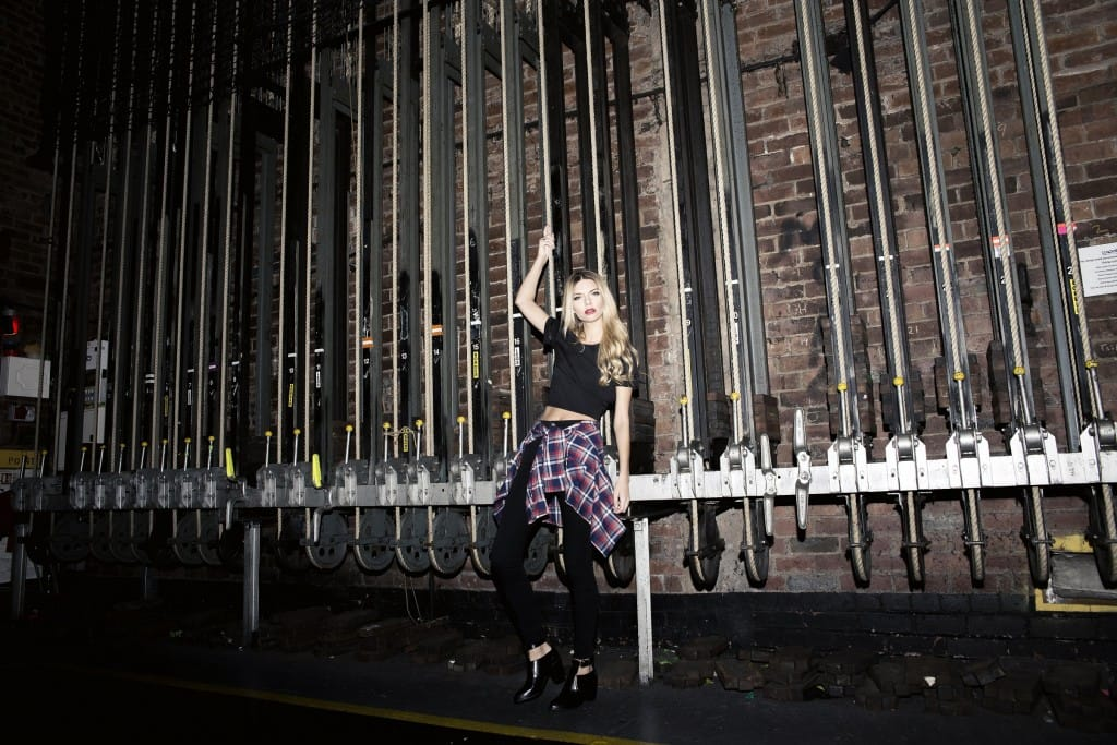 Miss Foxy AW14 Lookbook - Checked Shirt