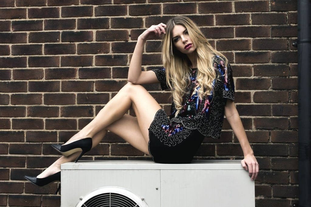 Miss Foxy AW14 Lookbook -  Sequin Co-ord