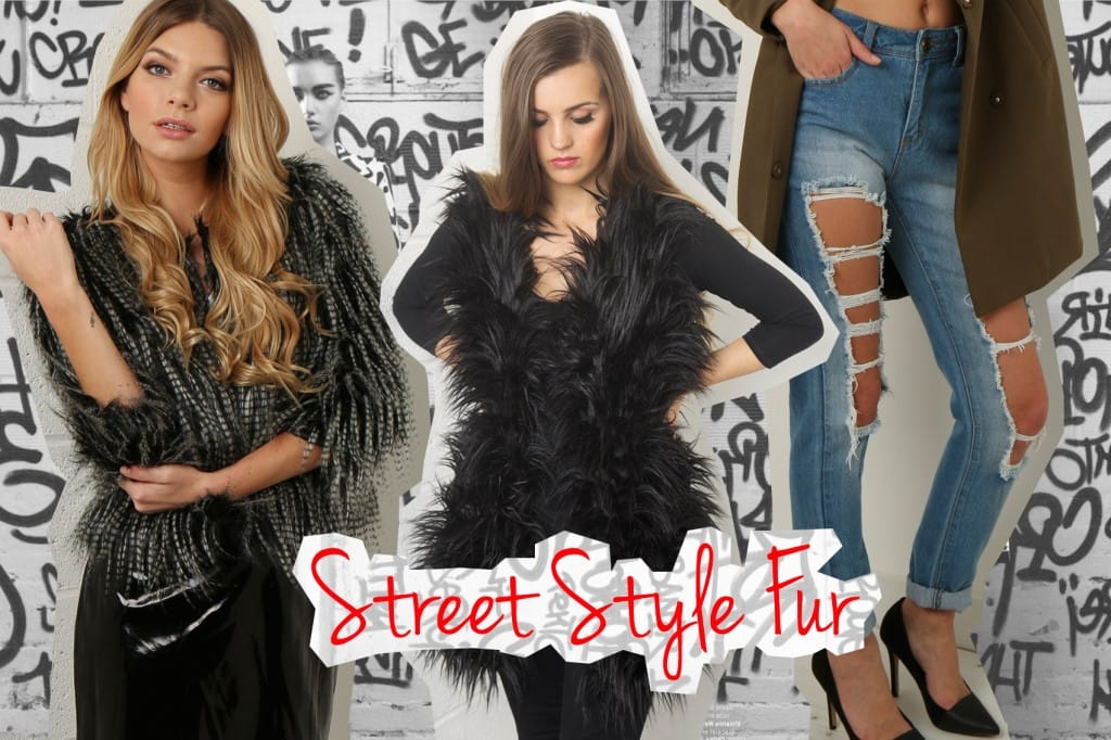 Street Style Fur from Miss Foxy