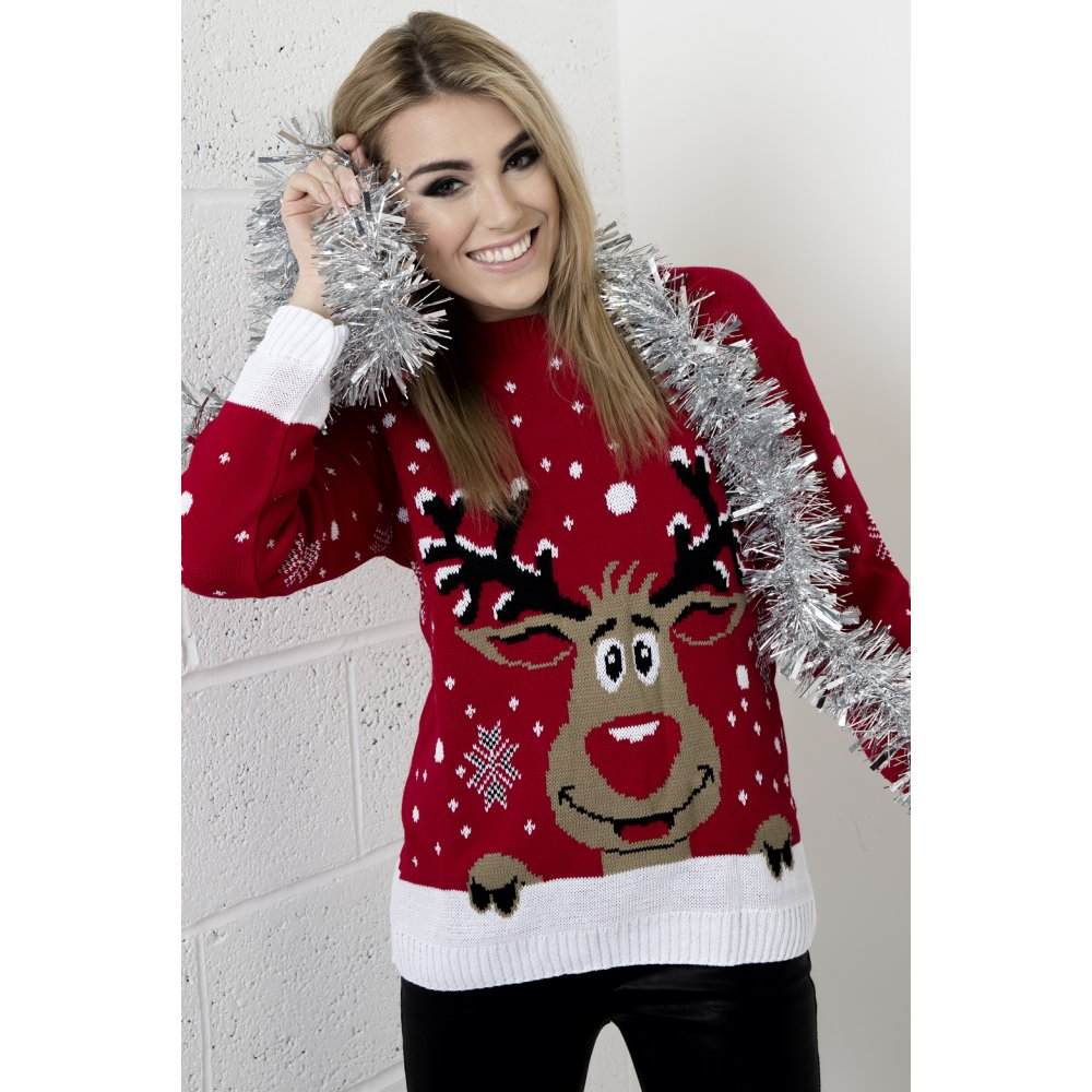 These Patons Christmas Jumper knitting patterns are perfect to ring in the Christmas spirit! A great way to celebrate the festive day (and maybe some funny themed Christmas parties) these jumpers feature Frosty the Snowman, Rudolf the Reindeer, festive Christmas trees and the big man himself, Father Christmas!