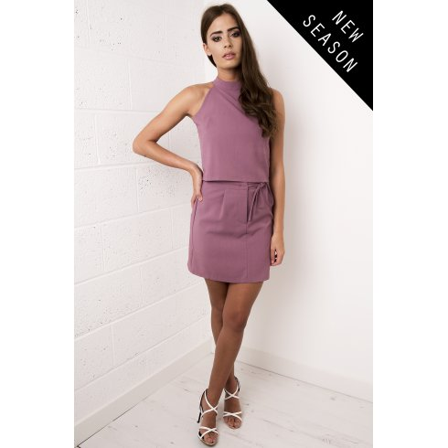 A-line Skirt in Plum