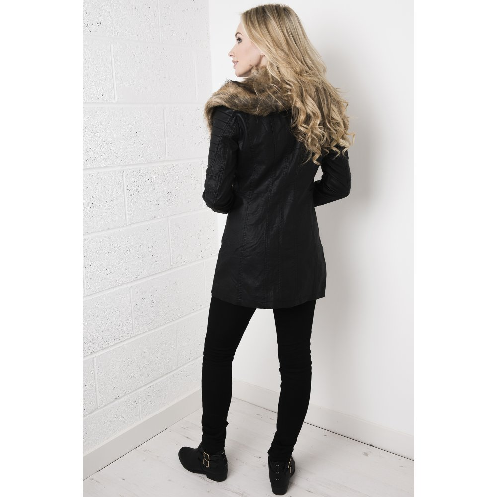 Leather Fur Coat Photo Album - Watch Out, There's a Clothes About
