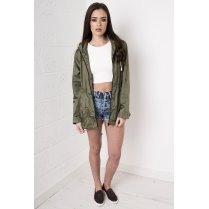 Casual Rainmac Jacket in Khaki