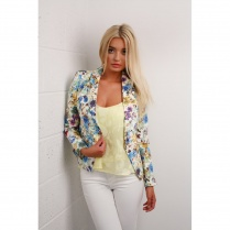 Floral Multi Fitted Blazer