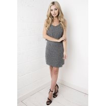Grey Frayed Co-ord