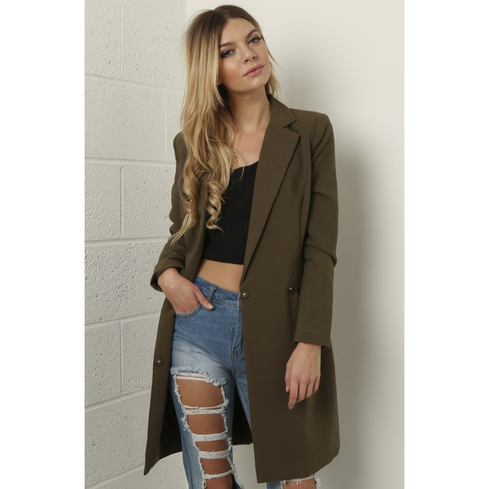 Long Brown Blazer