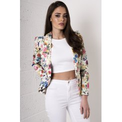 Multi-Coloured Floral Blazer