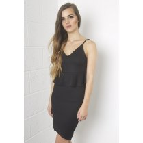 Peplum Co-ord in Black