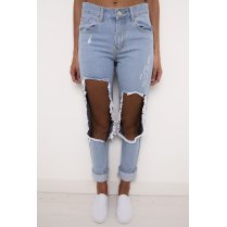 Super Ripped Boyfriend Jeans