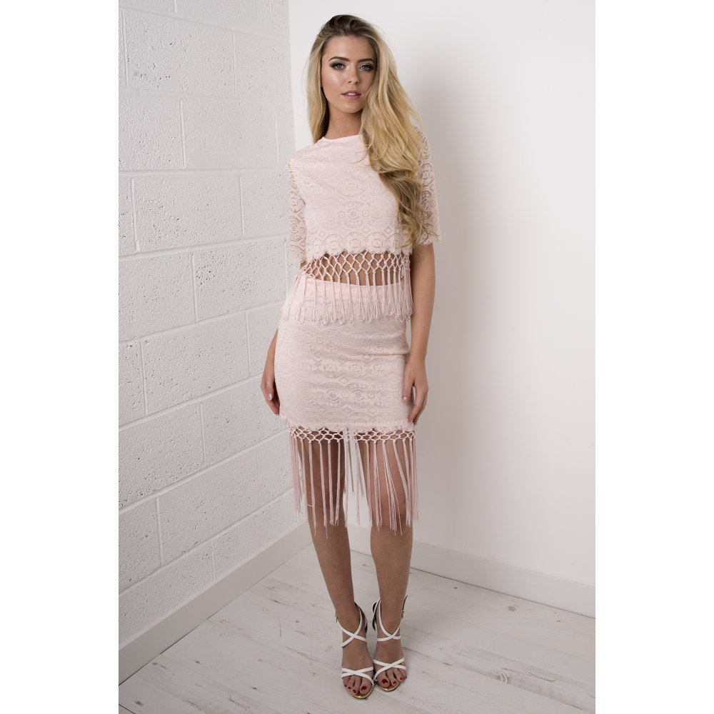Mini Skirt in Light Pink